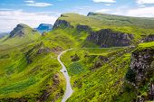 Amazing landscape in Scotland