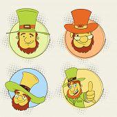 stock photo of leprechaun hat  - Sticker - JPG