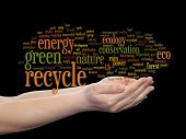 image of environment-friendly  - Concept or conceptual abstract green ecology - JPG
