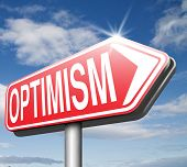 picture of positive thought  - optimism think positive be an optimist by having a positivity attitude that leads to a happy optimistic life and mental health 