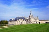 stock photo of chateau  - Chateau de Chantilly in the Picardie - JPG