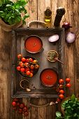 picture of vegetable soup  - Tomato soup - JPG