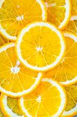 pic of orange  - fresh orange orange background Slices of orange - JPG