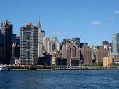 Paisagem de Midtown Manhattan