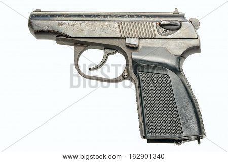 PM pistol close