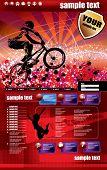 vector sport website template