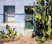 Southwest Tuscon Az traditional home exterior