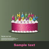 stock photo of happy birthday  - Happy birthday - JPG