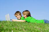 boys on laptop