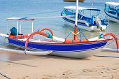 Traditional Fishing Boat. Bali, Indonesia.