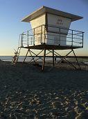Lifeguard Tower Off Duty