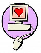 love by internet