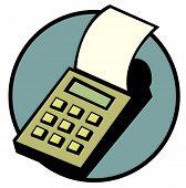 calculator with printer