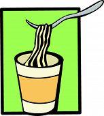instant soup cup