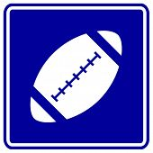 football ball sign