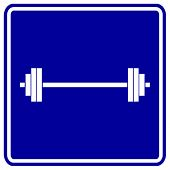 weights sign
