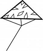 triangular kite