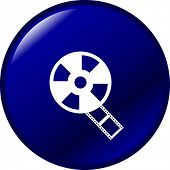 film reel button