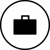 briefcase documents symbol