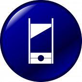 guillotine button