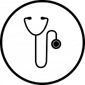 medical stethoscope symbol