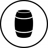barrel container symbol