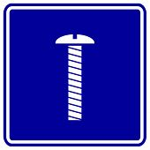 screw sign