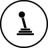 gear shift stick symbol