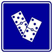 sinal de dominós