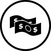 money bills symbol