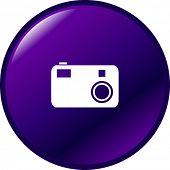 digital camera button