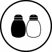 salt and pepper symbol