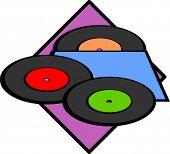 vinyl old discs