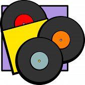 gramophone old discs
