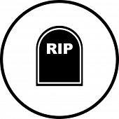 Tombstone-symbol
