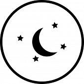 moon and stars symbol
