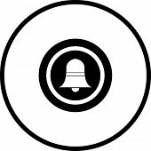 door bell button symbol