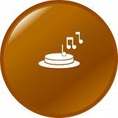 musical door bell button