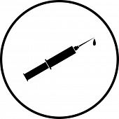 injection syringe symbol