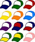 trucker cap in different colors