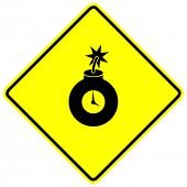 time bomb sign