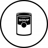 soup can symbol