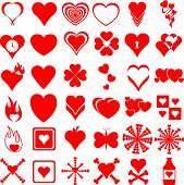 heart symbols collection