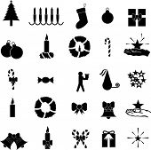 christmas symbol collection set 1
