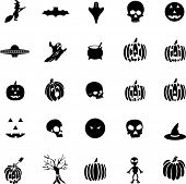 Halloween icon set 1
