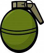 round hand grenade explosive