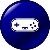 game pad videogame controller button