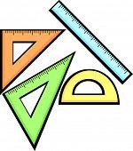 scholastischen Geometrie-set