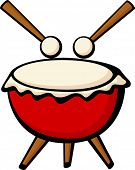 picture of timpani  - big drum - JPG