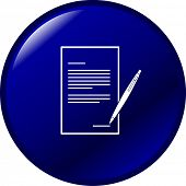 legal form or document button